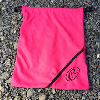 Rawlings - ローリングス グローブケース グラブ袋 スラッガー ミズノプロ 収納 ピンク