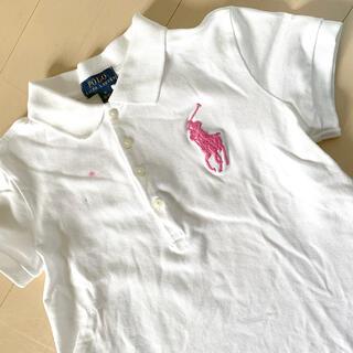ポロラルフローレン(POLO RALPH LAUREN)の【polo Ralph Lauren】kidsポロシャツ ※汚れ有り(Tシャツ/カットソー)