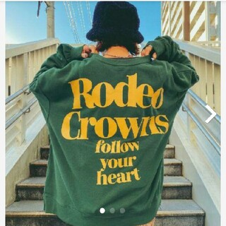 RODEO CROWNS WIDE BOWL - RODEO☆ビッグスウェット
