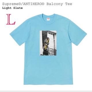 Supreme - Supreme®/ANTIHERO® Balcony Tee Light Sla
