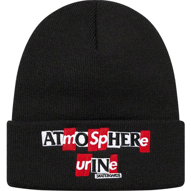 Supreme(シュプリーム)のsupreme  ANTIHERO ニット帽 ブラック メンズの帽子(ニット帽/ビーニー)の商品写真