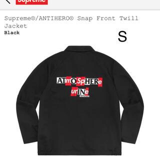 シュプリーム(Supreme)のANTIHERO® Snap Front Twill Jacket(ブルゾン)