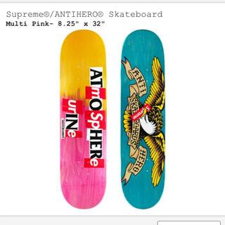 シュプリーム(Supreme)のSupreme®/ANTIHERO® Skateboard Multi Pink(スケートボード)