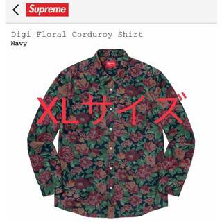 Supreme - XL Digi Floral Corduroy Shirt