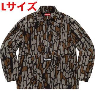 シュプリーム(Supreme)のSupreme Polartec Half Zip Pullover Camo(ナイロンジャケット)