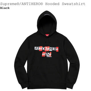 Supreme - Hooded Sweatshirt  supreme antihero s XL