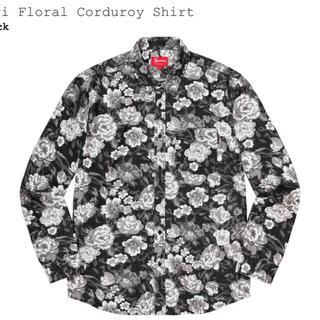 Supreme - Supreme digi floral corduroy shirt L