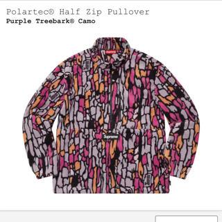 Supreme - 【M】supreme Polartec® Half Zip Pullover