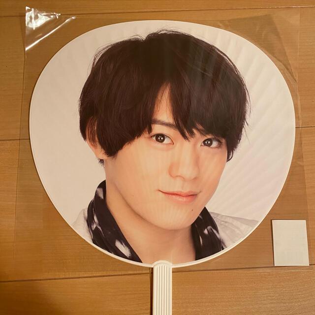Johnny's(ジャニーズ)のTravis Japan 松倉海斗 団扇 エンタメ/ホビーのタレントグッズ(アイドルグッズ)の商品写真