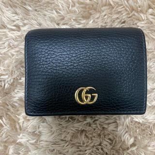 Gucci - GUCCI 二つ折り財布 マーモント
