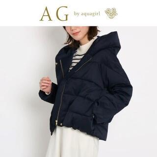 AG by aquagirl - 新品 AGアクアガール ワールド フーデットショートジャケット ネイビー