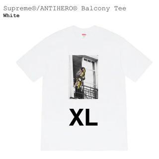 シュプリーム(Supreme)のSupreme Antihero Balcony tee XL(Tシャツ/カットソー(半袖/袖なし))