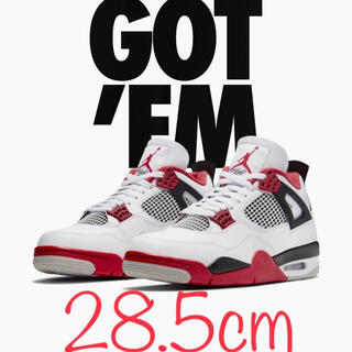 NIKE - NIKE AIR JORDAN 4 RETRO OG FIRE RED