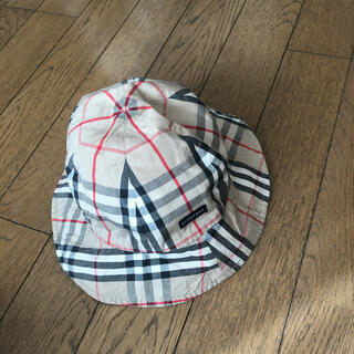BURBERRY - バーバリー キッズ リバーシブル 帽子