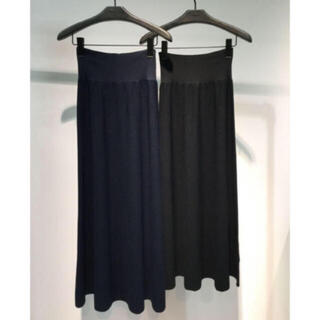 theory - セオリー Lustrate Maxi Skirt ニットフレアスカート