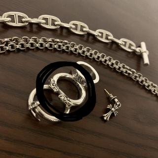 Chrome Hearts - クロムハーツ ダブルドッグリング 正規品 18号 付属品付き