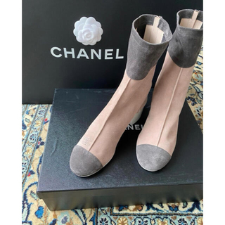 CHANEL - CHANEL☆定価15万以上新品ショートブーツ