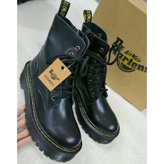 Dr.Martens - UK5 Dr.Martens ドクターマーチン 厚底 革靴 8ホール