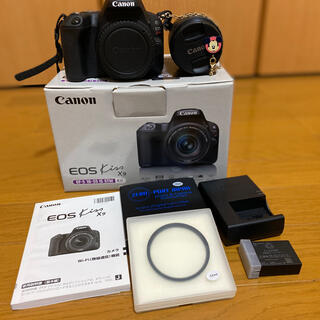 Canon - ~週末限定価格!!~キャノン eos kiss x9 レンズキット