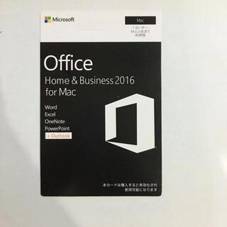 Microsoft - Office  Home&Business mac 2016 2台永続版