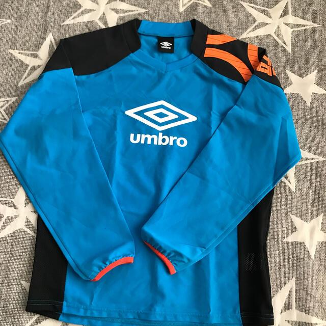 UMBRO(アンブロ)の150センチ UMBRO ピステ 水色 スポーツ/アウトドアのサッカー/フットサル(ウェア)の商品写真