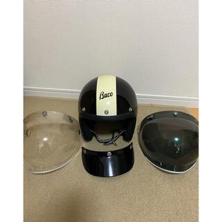 トイズマッコイ(TOYS McCOY)の3WAY BUCO ヘルメット 58-60(ヘルメット/シールド)