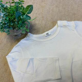 アカチャンホンポ(アカチャンホンポ)の【90cm】白ロンt(Tシャツ/カットソー)