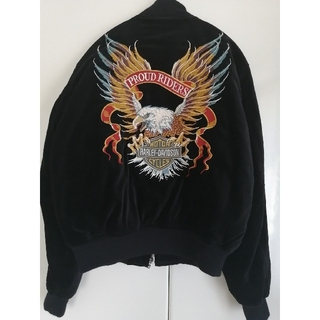 ハーレーダビッドソン(Harley Davidson)のHARLEY DAVIDSON ハーレーダビッドソン スカジャン(ブルゾン)