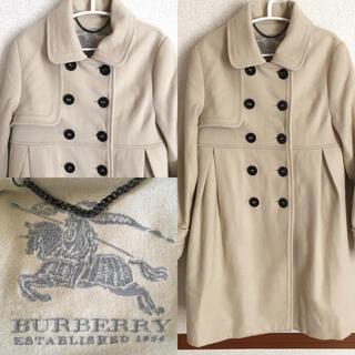バーバリー(BURBERRY)のBURBERRY バーバリー キッズコート 130 カシミヤ混(ジャケット/上着)