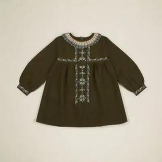 Caramel baby&child  - apolina ⋆ MARIETTE DRESS (3-5y)