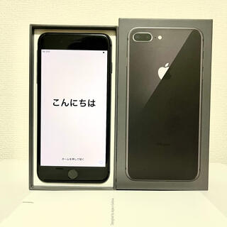 Apple - iPhone8plus spacegray 64GB SIMフリー
