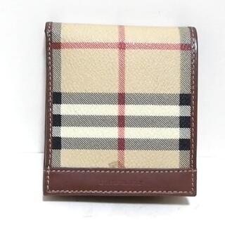 バーバリー(BURBERRY)のバーバリーロンドン 2つ折り財布 -(財布)