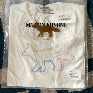 メゾンキツネ(MAISON KITSUNE')のmaison kitsune シルエット キツネ 半袖Tシャツ (Tシャツ/カットソー(半袖/袖なし))