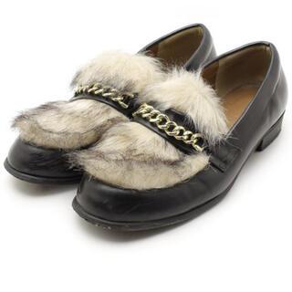 レプシィム(LEPSIM)のLEPSIM/ファー付きローファー(ローファー/革靴)