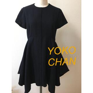 BARNEYS NEW YORK - YOKO CHAN ヨーコ チャン チュニック ミニワンピース 38