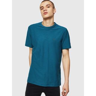 ディーゼル(DIESEL)のDIESEL Tシャツ ワンポイント ブルー  S ディーゼル(Tシャツ/カットソー(半袖/袖なし))