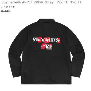 Supreme - 【Sサイズ】Supreme × Anti Hero Twill Jacket
