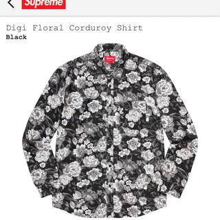 Supreme - supreme Digi Floral Corduroy Shirt XL