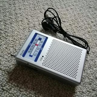 エルパ(ELPA)の開封未使用 ELPA AM FM ポケットポータブル ラジオ(ラジオ)