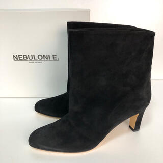 DEUXIEME CLASSE - 美品 37.5 NEBULONIE ショートブーツ 黒 ネブローニ 24 23