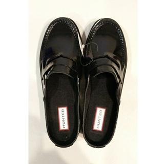 ハンター(HUNTER)の【新品】HUNTER レインローファーサンダル BLACK(レインブーツ/長靴)