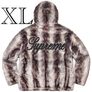 Supreme - supreme Faux Fur Reversible Jacket xl