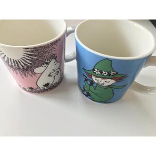 アラビア(ARABIA)の【アラビア】ムーミン マグカップ 2種セット(グラス/カップ)
