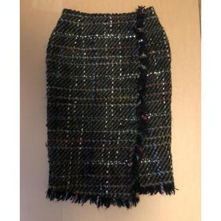 エディットフォールル(EDIT.FOR LULU)のエディットフォールル ツイードタイトスカート(ひざ丈スカート)