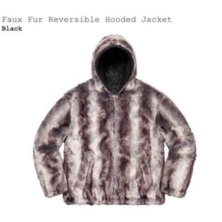 Supreme - Faux Fur Reversible Hooded Jacket 20fw
