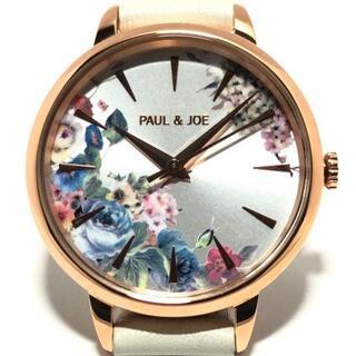 PAUL & JOE - ポール&ジョー 腕時計美品  PJ-7727 花柄