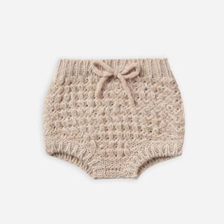 ボンポワン(Bonpoint)の【rylee+cru】knit bloomer/oat ニットブルマ ベージュ(パンツ)
