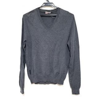 プラダ(PRADA)のプラダスポーツ 長袖セーター サイズ46 S -(ニット/セーター)