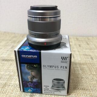 OLYMPUS - Olympus M.ZUIKO DIGITAL 45mm F1.8 単焦点レンズ