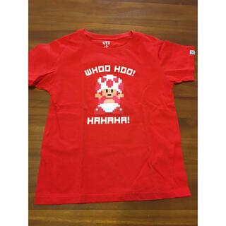 UNIQLO - ユニクロ マリオ赤Tシャツ 130サイズ